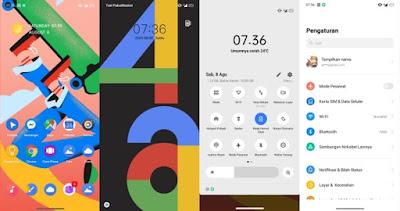 Google Pixel 4A Theme