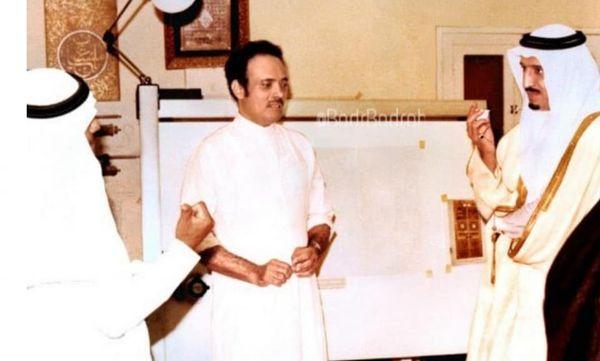 وفاة مصمم باب الكعبة في عهد الملك خالد بن عبدالعزيز