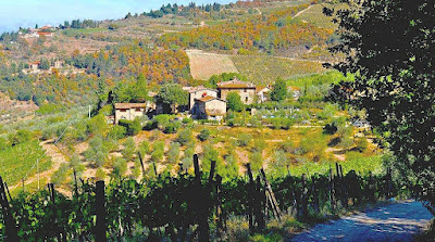 Poggio all'Olmo Tuscan farmhouse vacation rental in Chianti