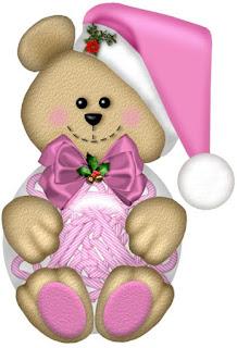 Imagenes de Ositos en Navidad.
