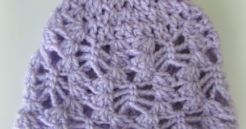 Crochet Patterns I Can Make And Sell : Lacy Crochet: Lacy Stitch Newborn Hat, Free Crochet Pattern
