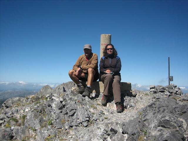 Rutas Montaña Asturias: Foto de cima en Peña Ubiña