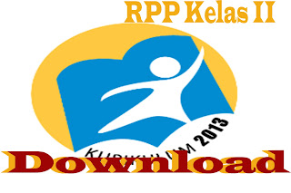 Download RPP Kurikulum 2013 Kelas II SD