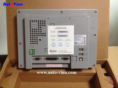 Màn hình HMI Hitech 10.4 inch, hình ảnh màn hình HMI Hitech 10.4 inch. Trung tâm bảo hành sửa chữa màn hình HMI Hitech, Delta, Mitsubishi, Proface, Samkoon, Wecon, Weintek, Weinview