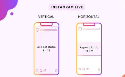 Ukuran Instagram Live