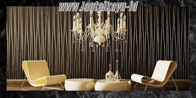 Dekorasi Ruang Tamu  Minimalis yang Mewah - gunakan lampu gantung