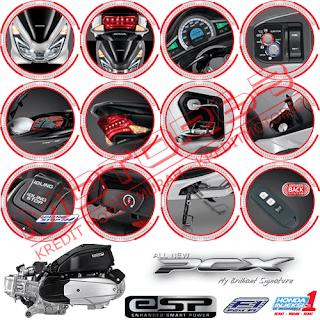 Fitur dan Spesifikasi Honda PCX 150 New
