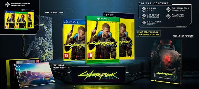 Sorteio do Game Cyberpunk 2077 para Qualquer plataforma