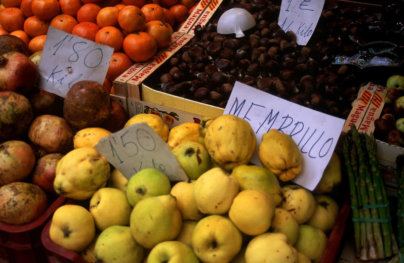 What is quince called in Spain? Membrillo