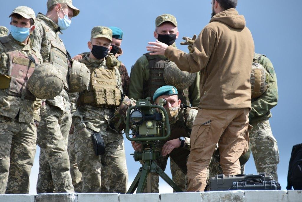 Військові випробовують легкий переносний ракетний комплекс Корсар з тепловізором