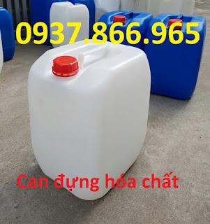 Can nhưa đựng hóa chất, can nhựa HDPE