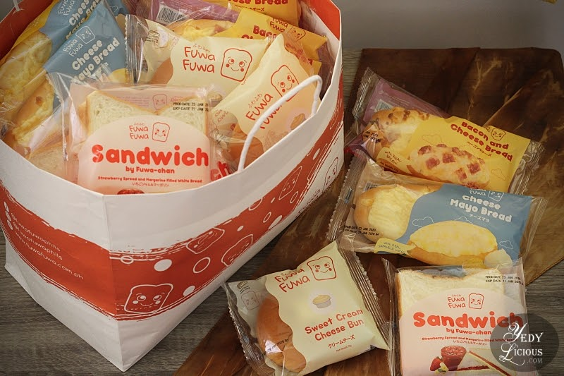 Fuwa Fuwa Bread Philippines New Deli Series Bread Blog Review by YedyLicious Manila Food Blog of Yedy Calaguas, Fuwa Fuwa Bread by Nippon Premium Bakery Inc., Fuwa Fuwa Loaf Mini Loaf RollsBuns Deli Sandwiches Series, Where To Buy Fuwa Fuwa Philippines Website Facebook Instagram, Best Japanese Bread in The Philippines, Fuwa Fuwa Cheese Mayo Bread, Bacon and Cheese BRead, Sweet Cream Cheese Bread, Strawberru Spreaad and Margarine Filled White Bread, Top Best Food Blog In Manila Philippines YedyLicious Manila Food Blog Yedy Calaguas Food Stylist Photographer