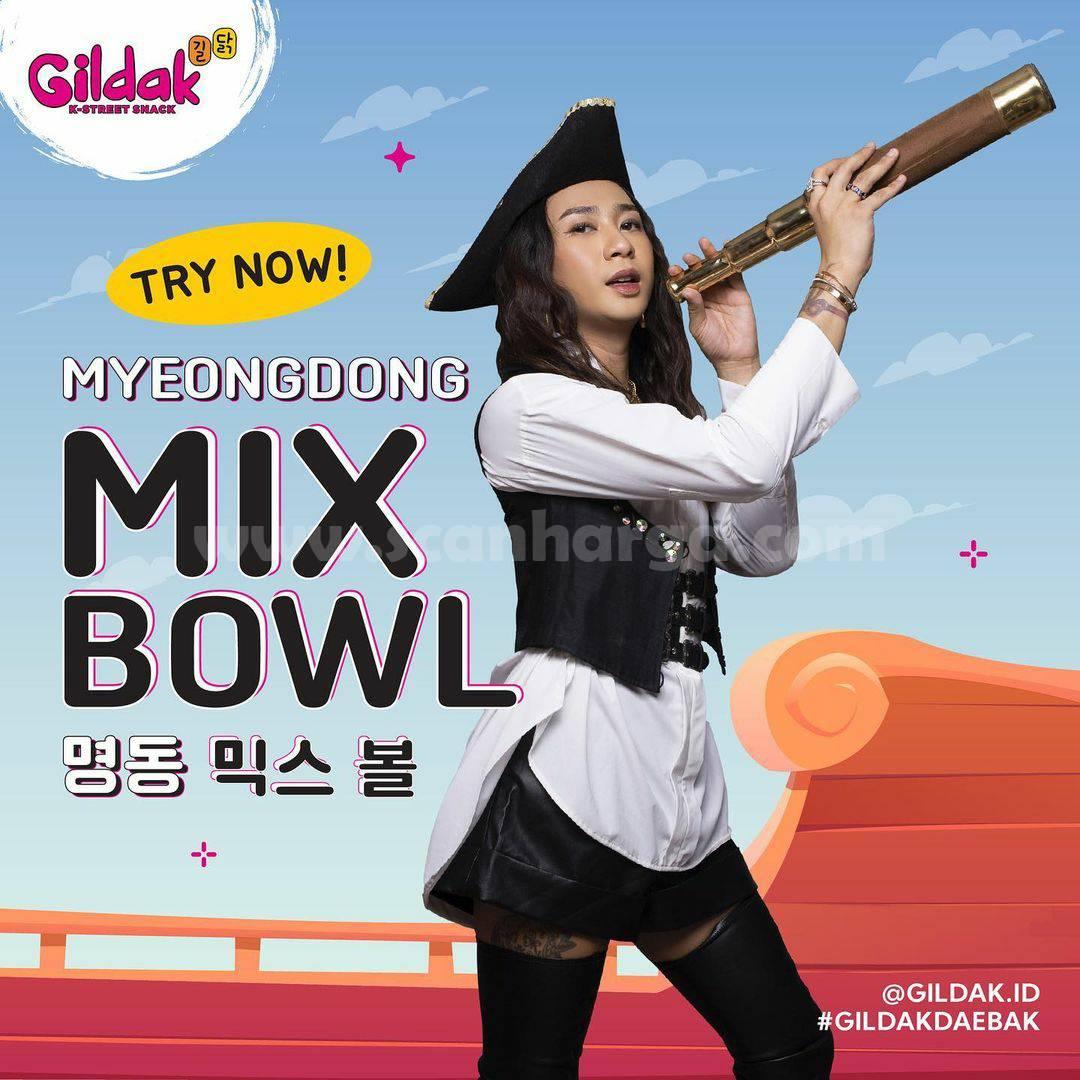 Menu Baru Gildak Myeongdong Mix Bowl