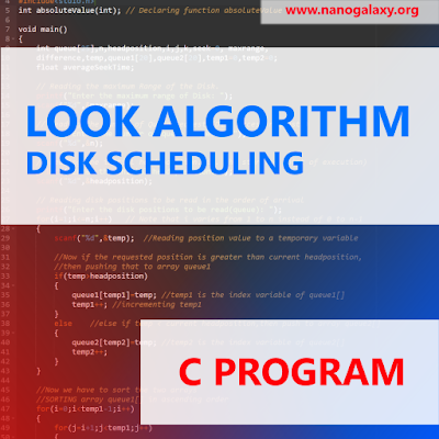 C Program to Simulate LOOK Disk Scheduling Algorithm   Logic Explained