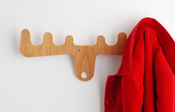 Jeri s organizing decluttering news hooks with moose Cute coat hooks