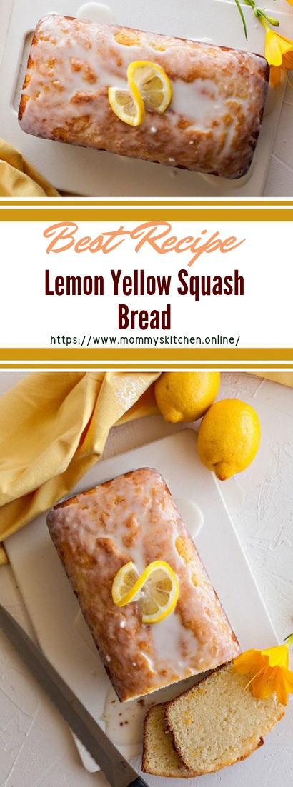 Lemon Yellow Squash Bread #desserts #cakerecipe #chocolate
