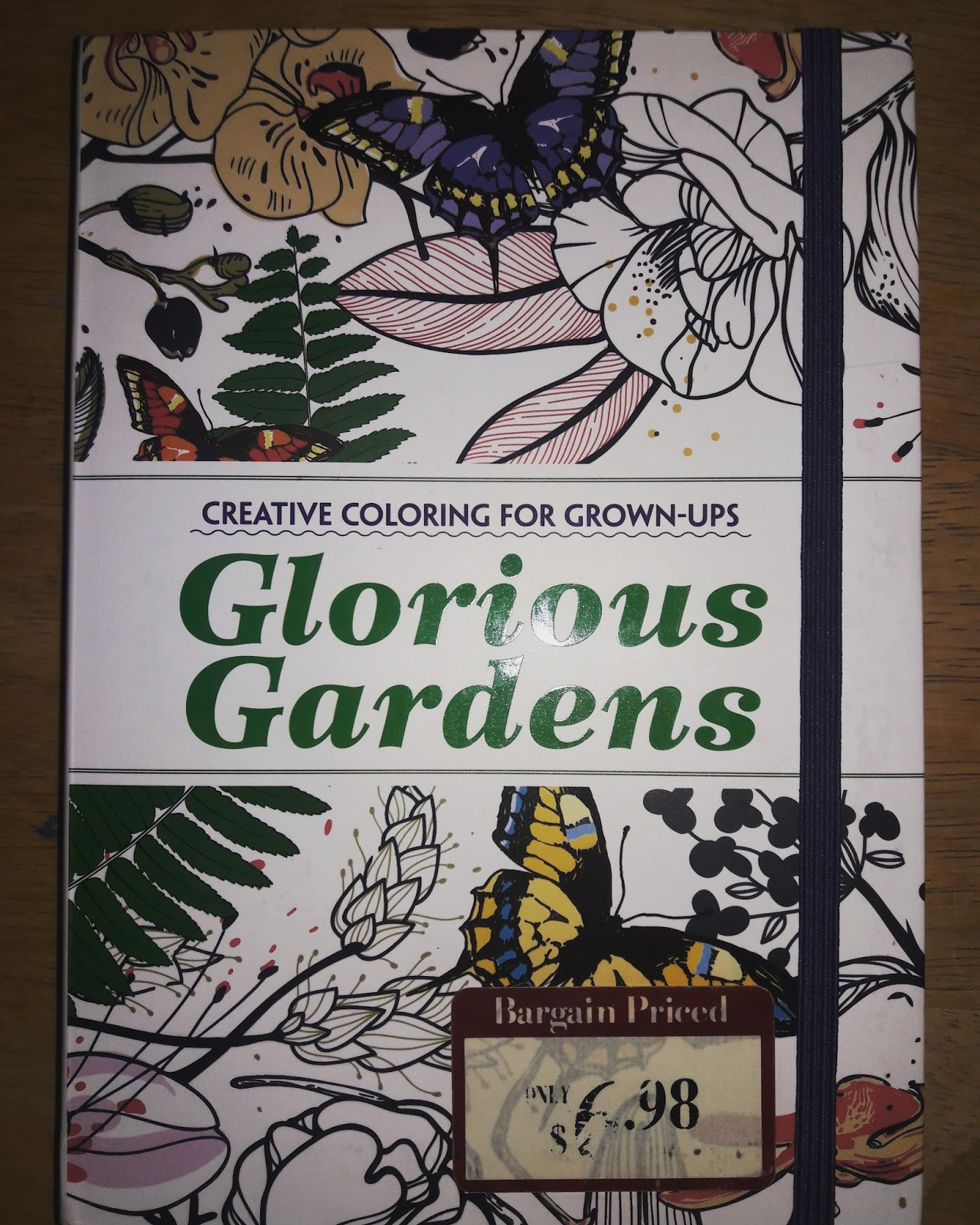 Glorious Garden Coloring Book Previous Post Dated May 11 2017 This Is The Purchased At Barnes Noble