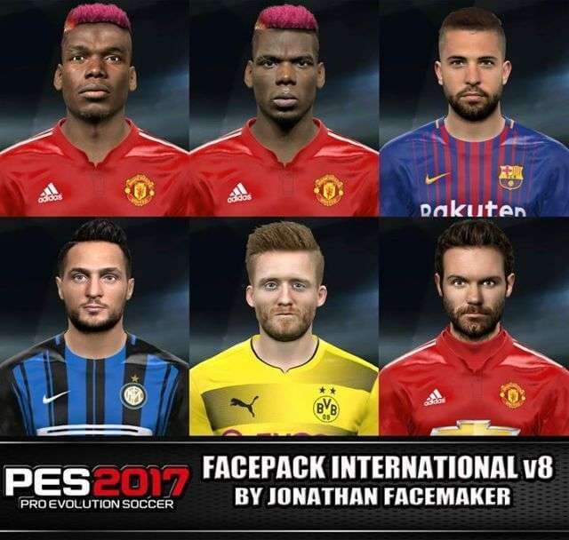 Facepack International PES 2017