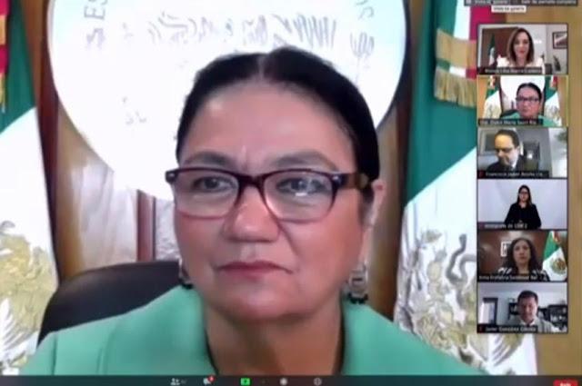 presidenta de la Mesa Directiva, Dulce María Sauri Riancho