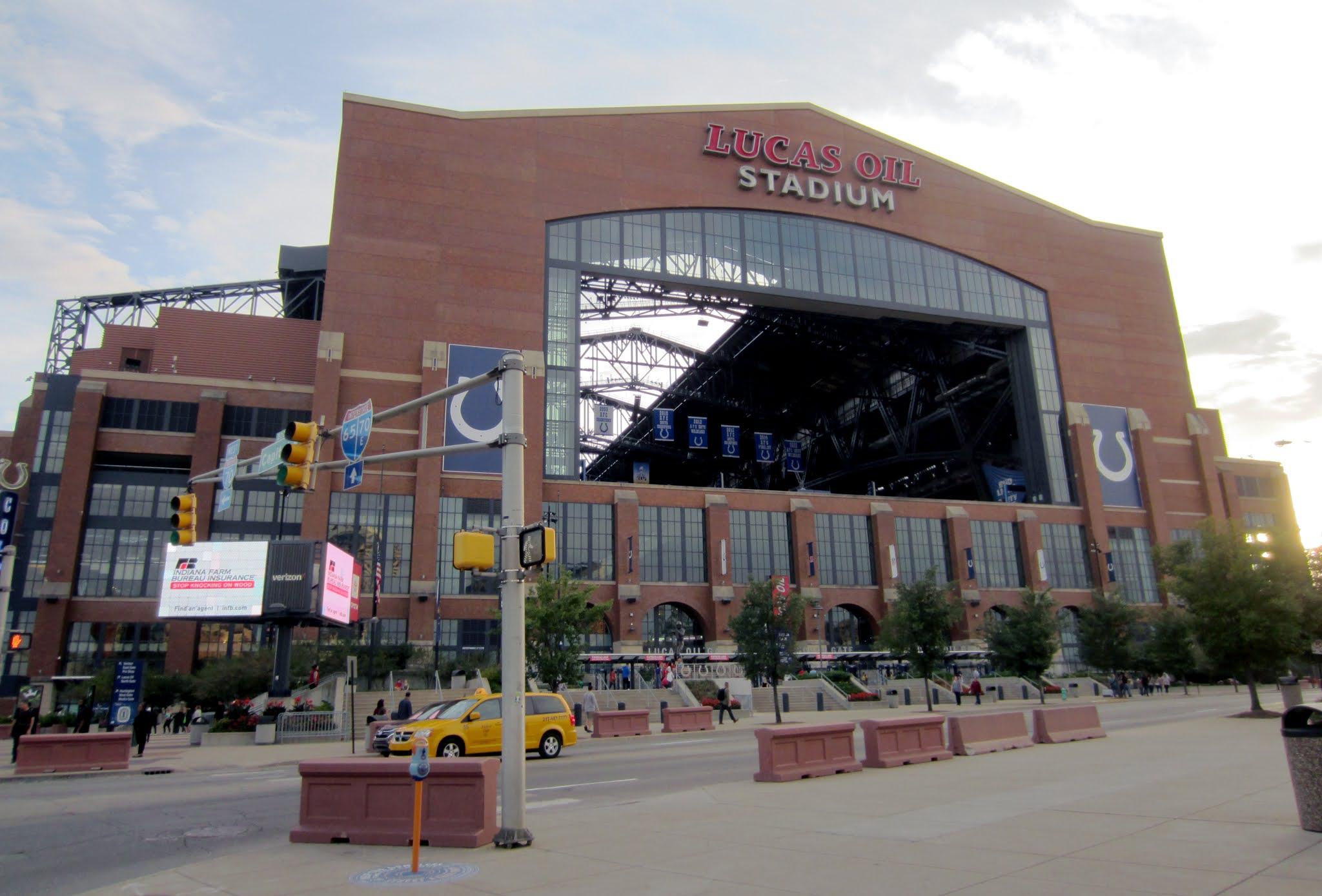 Lucas Oil Stadium exterior