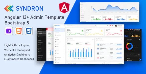 Best Angular 12+ Bootstrap 5 Admin Template