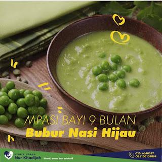 Bubur nasi hijau
