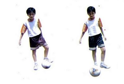 Mengoper/passing bola futsal dengan kaki dalam