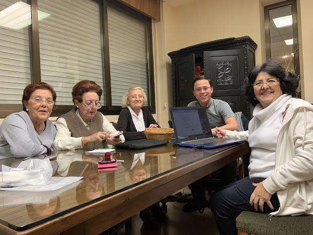 Reunión Página Web