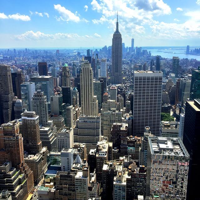 مبنى إمباير ستيت من أعلي نيويورك