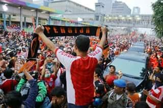 Anies Baswedan Bangga dan Gembira Menyambut Pemain Persija Jakarta di Balai Kota
