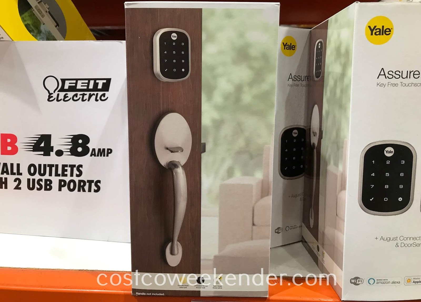 Secure your home and front door with the Yale Security Assure Lock SL