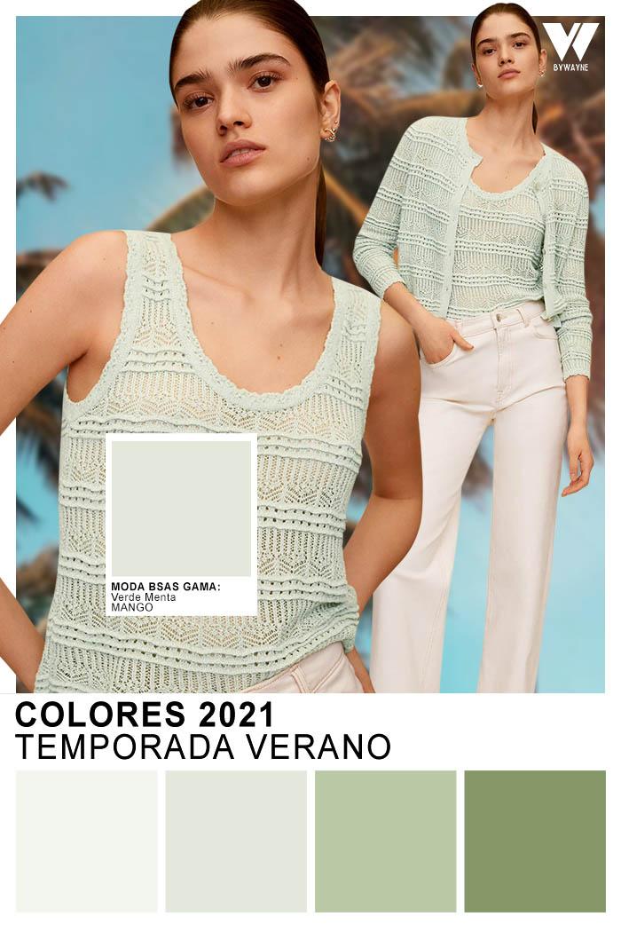 moda verano colores primavera verano 2021 ropa de mujer