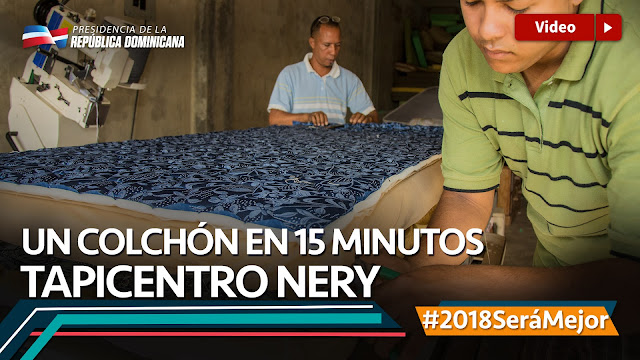 VIDEO: Un colchón en 15 minutos. Tapicentro Nery