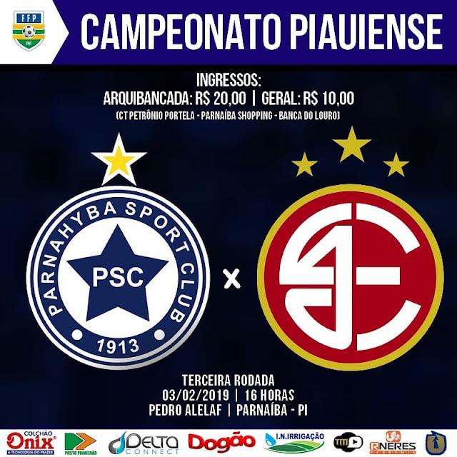 bfc5ed2d49 O jogo vale a liderança do Campeonato Piauiense.