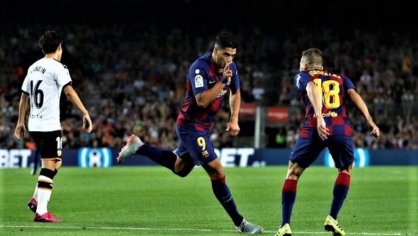 ملخص مبارة برشلونة ضد فالنسيا (5-2) في الدوري الإسباني