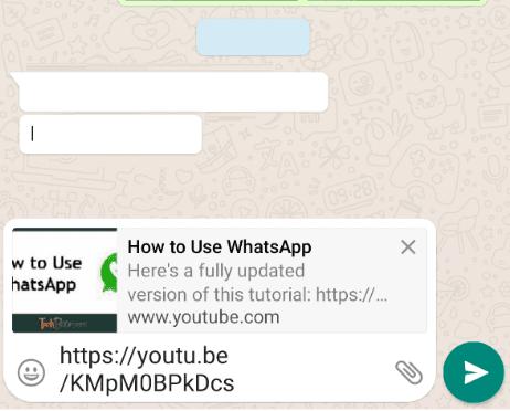 Kirim pesan Youtube