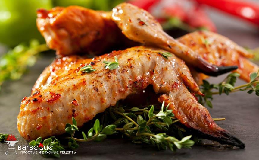 Шашлык из куриных крылышек по шанхайски