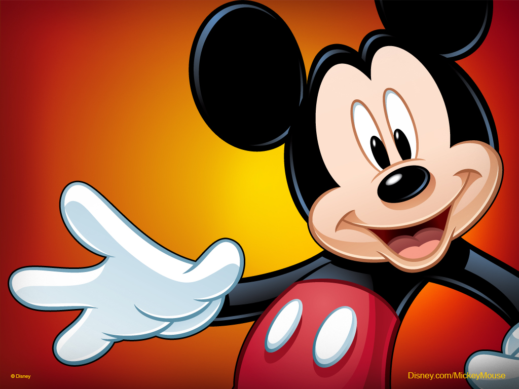 Super Kuka: Papel De Parede Mickey Mouse