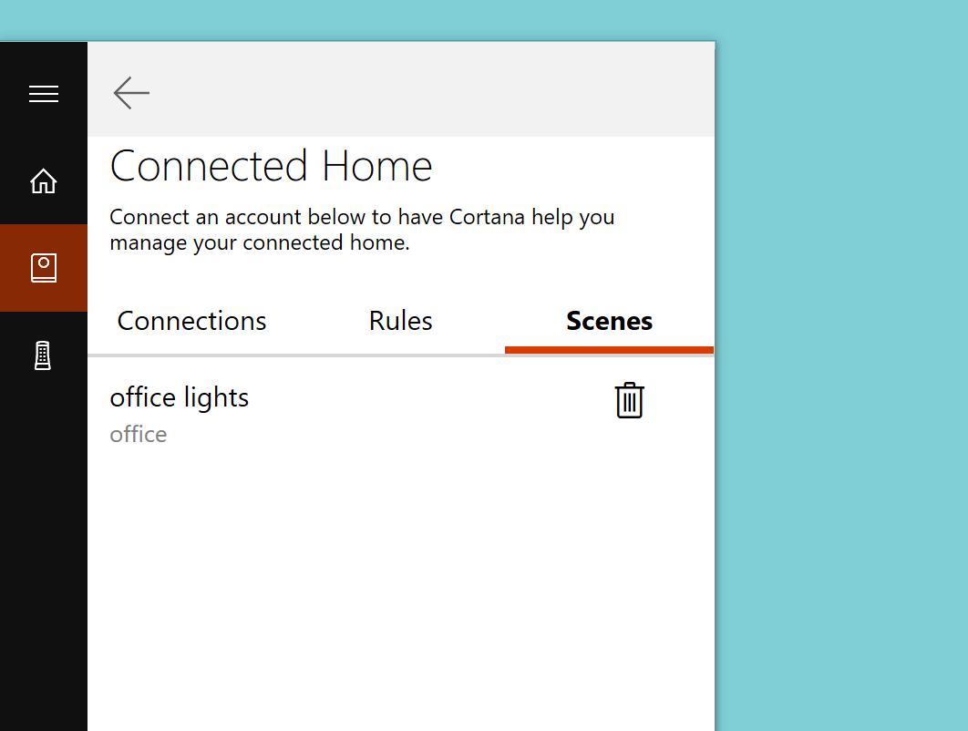 Cortana-regole-scene