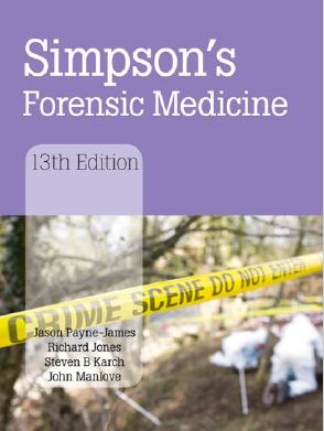 Simpson's Forensic Medicine - 13th edition