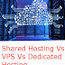 Shared Hosting Vs VPS Vs Dedicated Hosting Vs Cloud Hosting  And There Pros And Cons Hindi