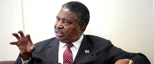 Zimbabwe Vice President Phelekezela Mphoko. PHOTO|FILE
