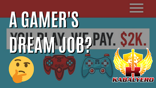 Get Paid 2,000 USD To Play Games (Gaming / Money)