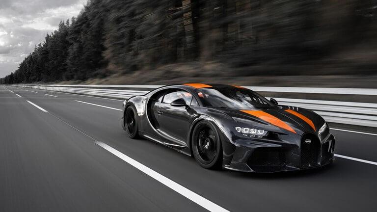 Bugatti Chiron Breaks the Top Speed Record Near to 500 kph