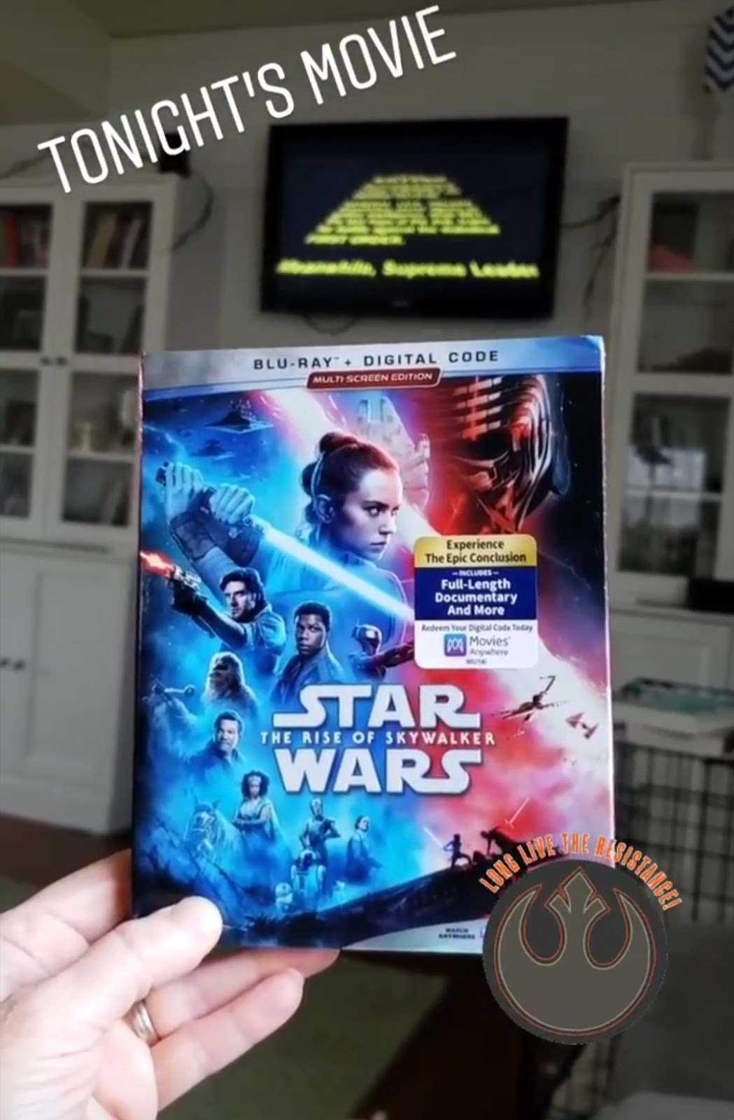 Woven By Words Star Wars The Rise Of Skywalker On Digital 3 17 And Blu Ray 3 31