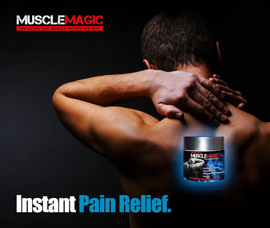 Topical Pain Relief Cream for Muscle and Joint Discomfort: Alternative to Pills ~ MuscleMagic Pain Relief
