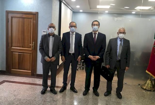 الرباط: رئيس مجلس إقليم تارودانت ونائبه يترافعان لدى السلطات المركزية بملفات متعلقة بالإقليم
