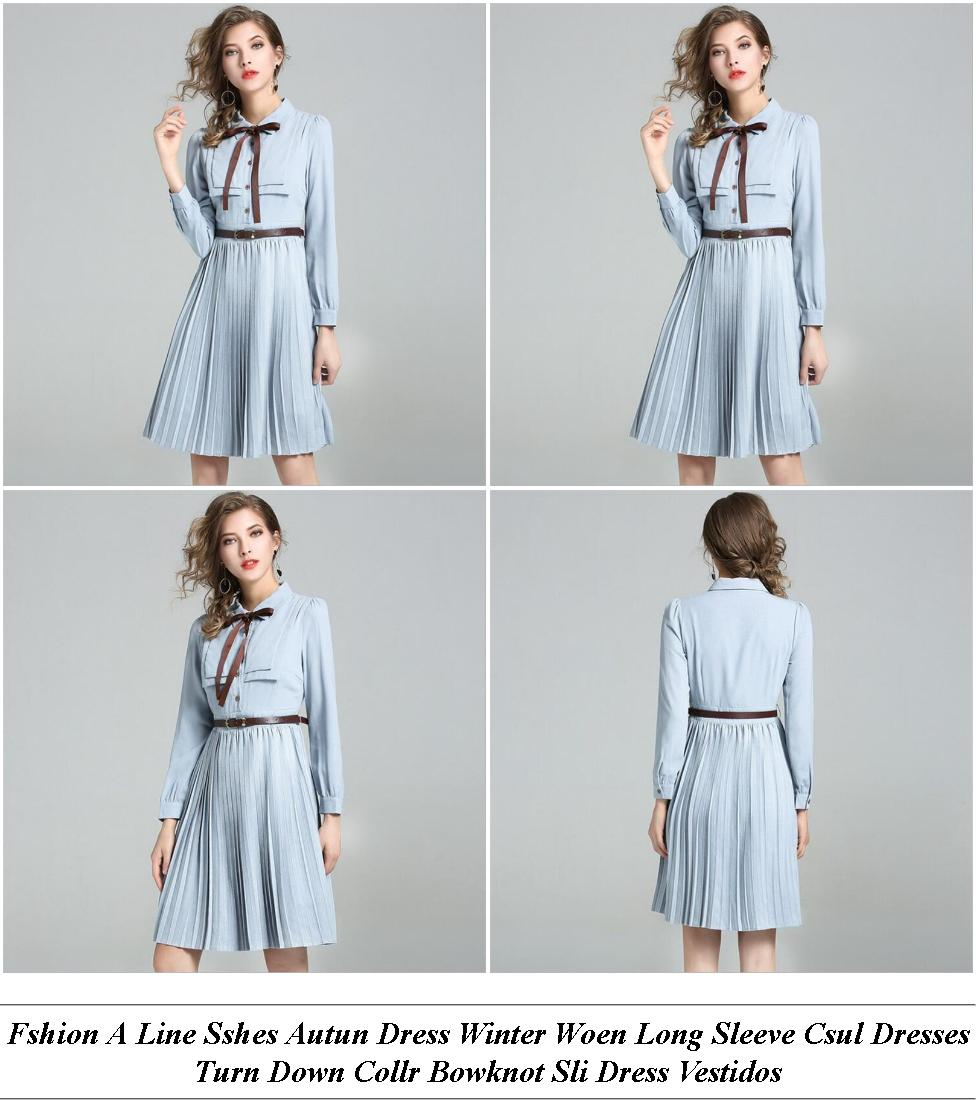 Lace Dress Long Sleeve Short - Vintage Used Clothing Stores - Wedding Dresses London Cheap