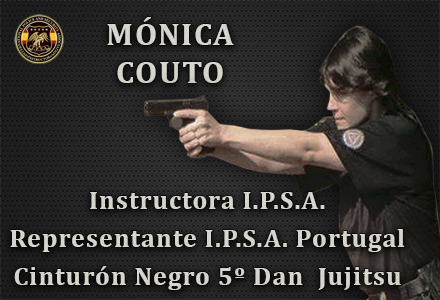 MONICA COUTO INSTRUCTORA IPSA INTERNATIONAL POLICE AND SECURITY ASOCCIATION IPSA