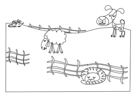 veterinarian office coloring pages - photo#45